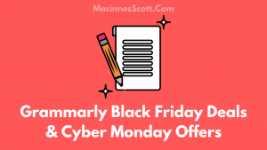 Grammarly Black Friday Deals And Cyber Monday Offers