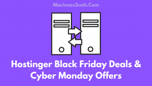 Hostinger Black Friday Deals And Cyber Monday Offers